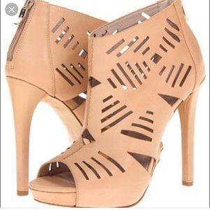 BCBGeneration Cutout Sandals - Size 6.5